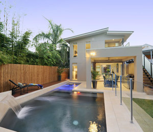 Boutique Brisbane Pool by Nu-Style Homes